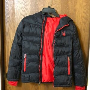 Boy's Spyder Jacket M(10/12)